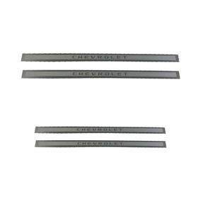 Kit De Soleiras De Aluminio Original Gm Para Astra 4 Portas