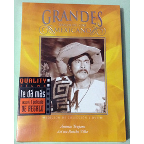 - Ánimas Trujano / Así Era Pancho Villa - Dvd Cine Mexicano