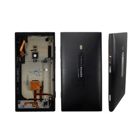 Nokia Lumia 800 Tapa Carcasa Trasera Color Negro Flexores