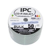 Cd Ipc Printable Blanco Brillante Fullprint X 100 Unidades.