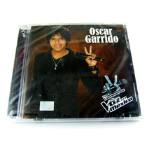 Oscar Garrido / Las Canciones De La Voz Mexico Cd Nuevo 2011