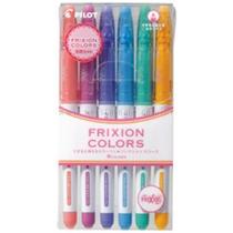 Canetinha Apagável Pilot Frixion Colors - Kit Com 6 Canetas