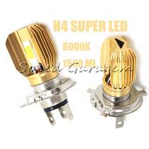 Lampadas H4 Super Led Xenon Yamaha V-max Mt 03 Fazer 250 L5