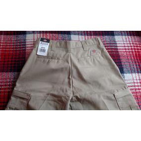 Pantalon Cargo Marca Dickies 31 X 32 Color Khaki Caqui Kaki