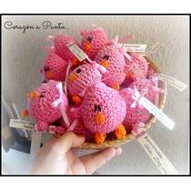 Souvenir Original Tejido Crochet Nacimiento Contraentrega