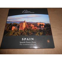 Monedas Set España Euros Y Pesetas Unc Sin Circular Blister.