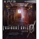 Resident Evil 0 Zero Hd Remasterizado - Ps3 Sj Games