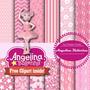 Kit Imprimible Pack Fondos Angelina Ballerina 2 Clipart