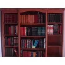 Biblioteca Antigua De Roble