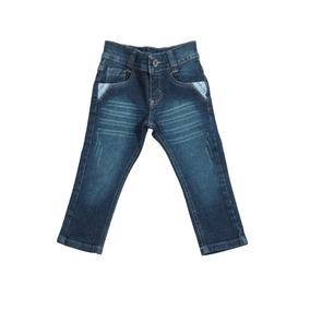 Calça Jeans Bebê Meninos Masculino Tamanhos 01/02/03