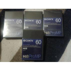 Hi8 Promp Sony 30 Y 60 Cassette Profesional Nuevo