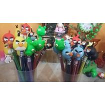 Souvenirs Lápices Angry Birds- Piratas