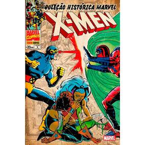 Panini Coleção Histórica Marvel - Os X-men 5,6,7,8 (lacrado)