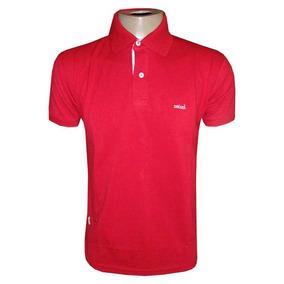 Camisa Colcci Gola Polo Camiseta Vermelha