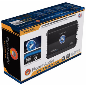 Nuevo! Amplificador Monoblock Planet Audio Clas D Pl1500.1m