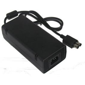 Fonte Xbox 360 Slim Original 120/135w 220v +cabo De Energia
