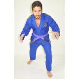 Kimono Jiu Jitsu, Judo, Trançado + Faixa Brinde