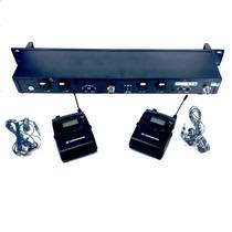 Sistema De Retorno In Ear Sennheiser Sr2000 Duplo