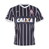 Camisa Corinthians Nike Listrada 2013/2014 Original #24lu