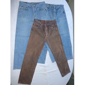 Conjunto De 3 Calças Jeans Levis 501 Americanas Usadas