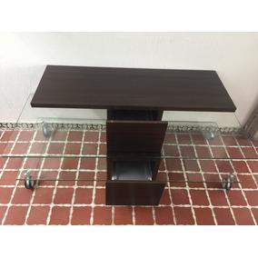 mesa para tv cristal templado