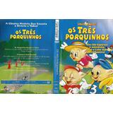 Dvd Os Três Porquinhos - Spectra Nova Video - Original