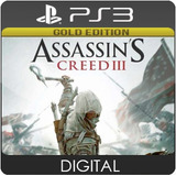 Assassins Creed 3 Gold Edition Ps3