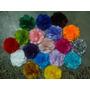 50 Un Flores Tecidos , Tiaras E Acessórios, 5cm