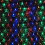 Rede Led Colorido Natal Pisca Pisca Com 120 Lampadas