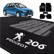 Tapete Carpete Linha Peugeot 206/207/306/307/2008 Acessório