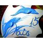 Cartel C/delfines 15 Años Bodas Aniversaros Fiestas Eventos