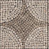 Papel De Parede Pedras Portuguesas Amarronzadas E Brancas