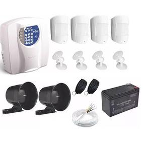 Kit Alarme Central Genno Inform Ultra Residencial Comercial