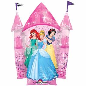 Globo Gigante Castillo Princesas Disney 90cm