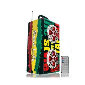 Radio Caixa De Som Torre Wireless Mp3 Usb Sd Fm