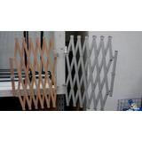 Rejas Plegables En Madera O Aluminio