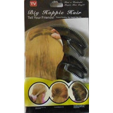 Kit Bumpits Big Happie Hair 05 Pçs Preto Penteados Especiais
