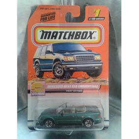 Matchbox - Mercedes Benz Clk Convertible De 1999 En Blister