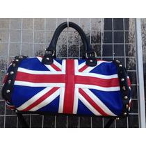 Bolsa Com Estampa Da Bandeira Da Inglaterra