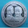 Medalla Mexico Centenario De La Revolucion 1910- 2010 Plata