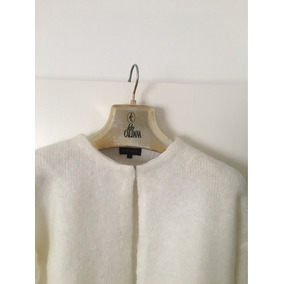 Sweater Saquito De Lana Y Alpaca Adolfo Dominguez Talle S