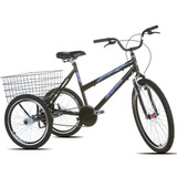 Bicicleta Triciclo Celly Aro 26 Sport Bike