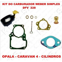 Kit Reparo Carburador Opala/caravan 4c Weber Simples Dfb 228