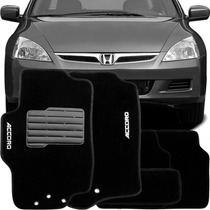 Tapete Carpete Confort Bordado Honda Accord 2006 /...