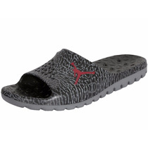 Chinelo Nike Air Jordan Superfly Basket Sandals Team Black