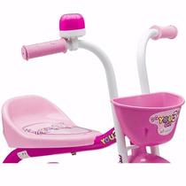 Bicicleta Triciclo Infantil Nathor Feminina You 3 Girl Aro 5