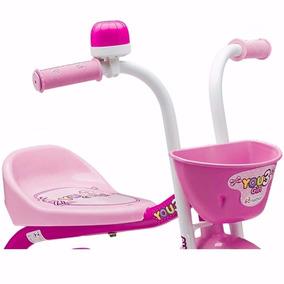 Triciclo Menina 3 Rodas Bicicleta You 3 Girl Nathor Criança