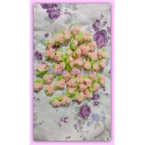 Miniaturas Ramitos Y Flores Porcelana Fría