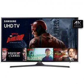 Tv 60p Samsung Led Smart 4k Usb Hdmi - Un60ku6000gxzd