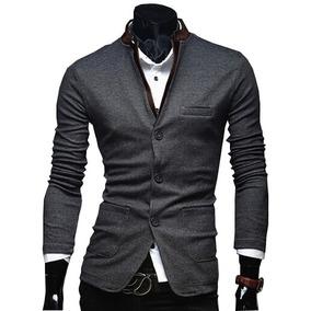 Saco Blazer Hombre Slim Fit Moda Casual Juvenil E Informal